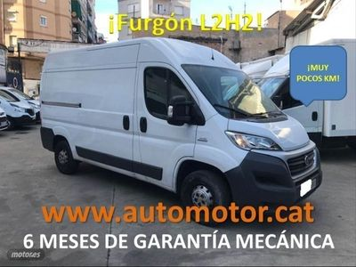 usado Fiat Ducato 33 2.3 Multijet Furgon Medio 130cv