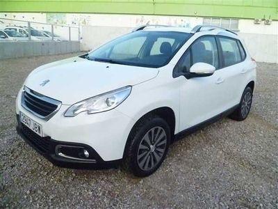 usado Peugeot 2008 ACTIVE 1.6 E-HDI 92 ETG6 92CV color blanco año 2014 49386 KM