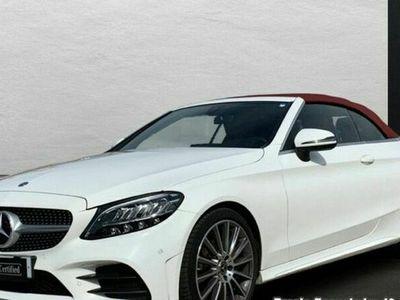 usado Mercedes C220 Clased Cabrio AMG Line (EURO 6d-TEMP)