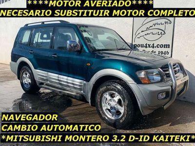 usado Mitsubishi Montero 3.2 DI-D GLS Kaiteki AT