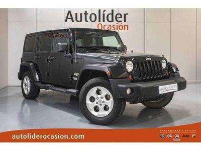 usado Jeep Wrangler Unlimited 2.8CRD Sahara