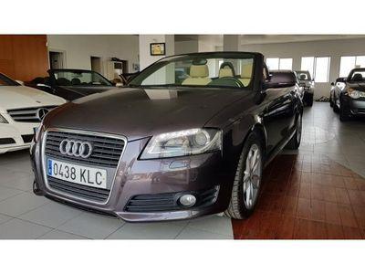 usado Audi A3 Cabriolet 1.8 T Ambition S-Tronic Interior beige