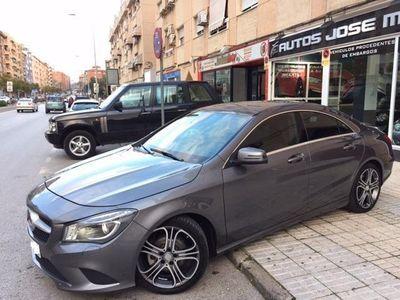 usado Mercedes CLA220 CDI 7G-DCT 177 OCASION NACIONAL LIBRO IMPECABLE