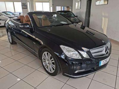 usado Mercedes E200 Cabrio CGI BE Aut.