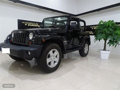 brugt Jeep Wrangler 2.8 CRD Sahara