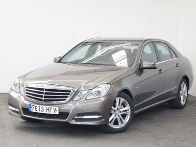brugt Mercedes E220 Clase eCdi Blueefficiency Avantgarde