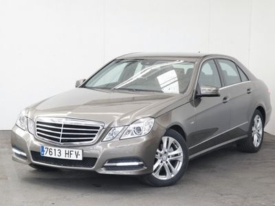 usado Mercedes E220 Clase eCdi Blueefficiency Avantgarde