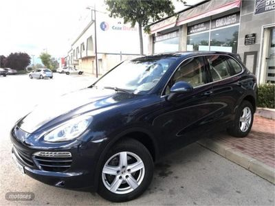 used Porsche Cayenne Diesel 245 Aut. OCASION NACIONAL LIBRO IMPECABLE