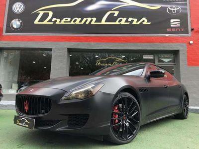 usado Maserati Quattroporte S Q4 Aut. 410 cv en Madrid