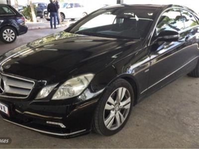 gebraucht Mercedes E350 Clase E CoupeCDI Blue Efficiency Avantg.