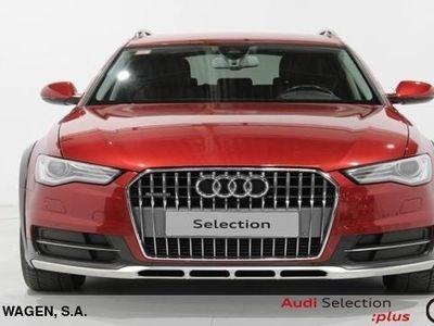 usado Audi A6 Allroad Advanced edition 3.0 TDI quattro 160 kW (218 CV) S tronic Diésel Granate matriculado el 12/2015