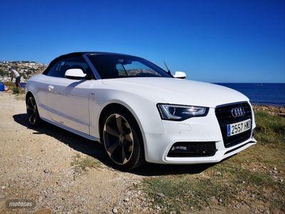 usado Audi A5 Cabriolet 2.0 TDI 177cv multitron S line ed