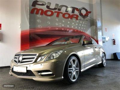 used Mercedes E350 Clase E CabrioCDI BE Elegance