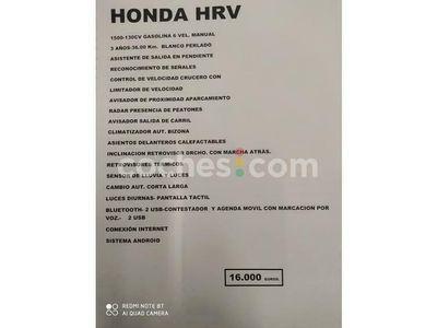 usado Honda HR-V Hr-v1.5 I-vtec Elegance 130 cv en Navarra