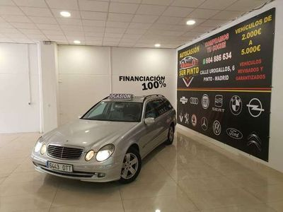 usado Mercedes E280 Familiar 4M Aut.