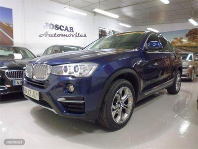 used BMW X4 xDrive20d