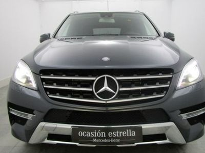 usado Mercedes 250 ML Series CLASE LBLUETEC 4MATIC TODO TERRENO blanco 2015 9616 KM