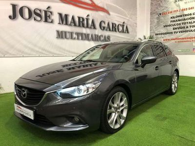 usado Mazda 6 W. 2.2DE Luxury + Pack Premium