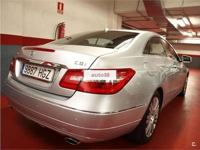 usado Mercedes E350 Coupé 350CDI BE NACIONAL CON LIBRO .IMPECABLE