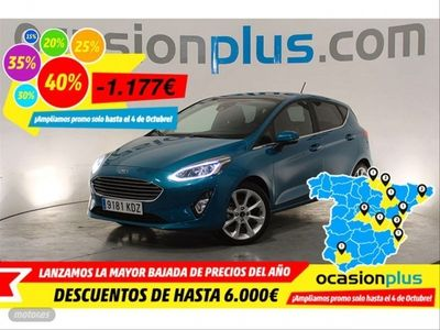 usado Ford Fiesta 1.5 TDCi 63kW Titanium 5p