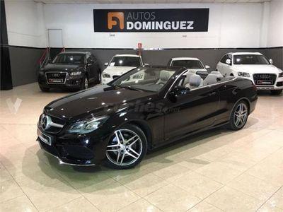 usado Mercedes E250 Clase E CabrioBluetec 2p. -15
