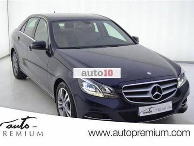 usado Mercedes E220 Clase eCDI BLUEEFFICIENCY EDITION