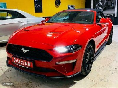 usado Ford Mustang Mustang 2.3 EcoBoost 213kWAut. Conv.