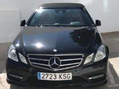 usado Mercedes E220 Cabrio CDI BE 7G Plus