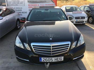 usado Mercedes E220 Clase ECdi Blue Efficiency Avantgarde 4p. -12