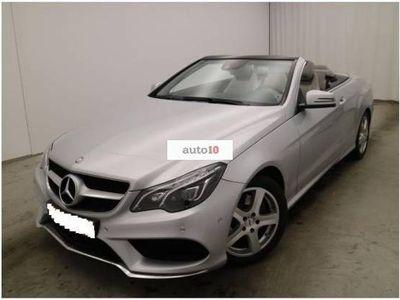 usado Mercedes E250 Cabrio CDI 7G Plus PAQUETE AMG, NAVI, CUERO...
