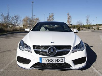 usado Mercedes E350 Clase E CoupeBlueTEC -14