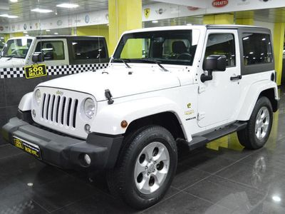 usado Jeep Wrangler 2.8CRD Sahara Aut. 48.000KM TECHO LONA Y DURO