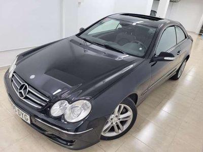usado Mercedes CLK320 cuero, techo panoramico