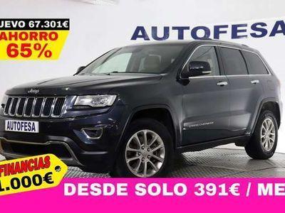 usado Jeep Grand Cherokee 3.0 CRD V6 250cv Limited 4x4 5p Auto S/S # IVA DEDUCIBLE, NAVY, CUERO, LEVAS