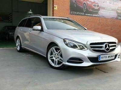 usado Mercedes E350 Clase EBlueTEC 4MATIC Elegance Estate