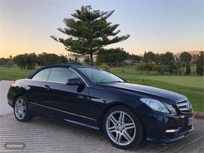 gebraucht Mercedes E250 Clase E CabrioCDI