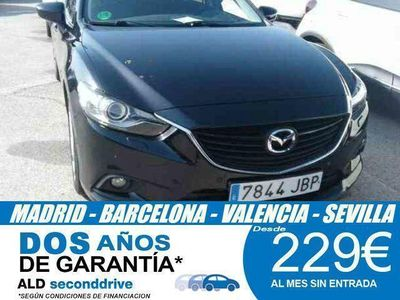 usado Mazda 6 2.2 DE Luxury + Pack Premium AT 110 kW (150 C