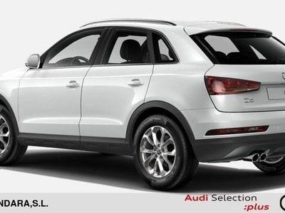 usado Audi Q3 design edition 2.0 TDI quattro 110 kW (150 CV) S tronic Diésel Blanco matriculado el 05/2017