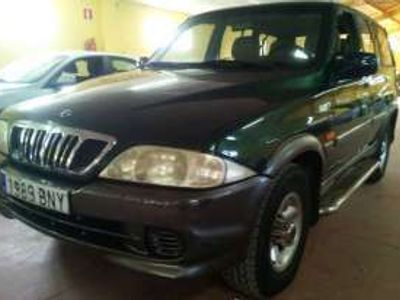usado Ssangyong Musso Diesel