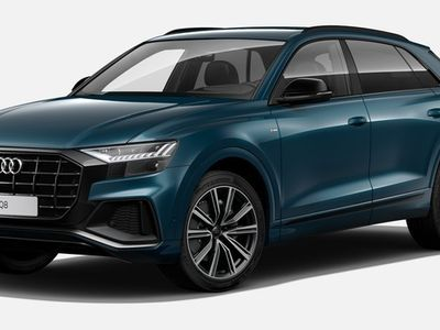 usado Audi Q8 50 TDI quattro 210 kW (286 CV) tiptronic Diésel Azul matriculado el 09/2019