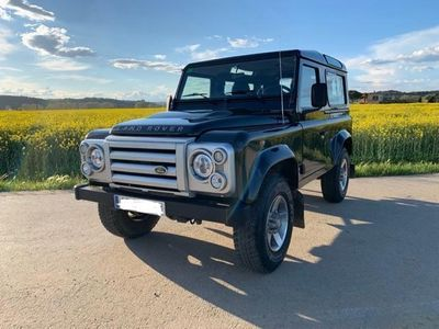 used Land Rover Defender Black Impecable