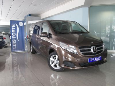 second-hand Mercedes V220 Clase d Largo 7G Tronic **CLIMA PLAZAS TRASERAS**