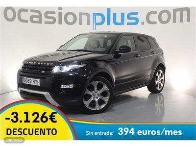 gebraucht Land Rover Range Rover evoque 2.2L SD4 4x4 Dynamic Aut. 140 kW (190 CV)