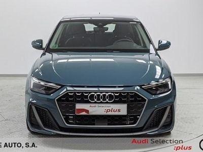 usado Audi A1 Sportback S line 30 TFSI 85 kW (116 CV) Gasolina Verde matriculado el 03/2019