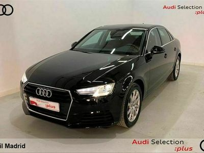 usado Audi A4 Advanced 35 TFSI 110 kW (150 CV) S tronic Gasolina Negro matriculado el 09/2019