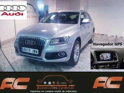 usado Audi Q5 2.0 TDI CD 190CV QUATTRO S-TRONIC ADVANCED NAVI-XENON+LETS-PDC DELANTERO Y TRASERO