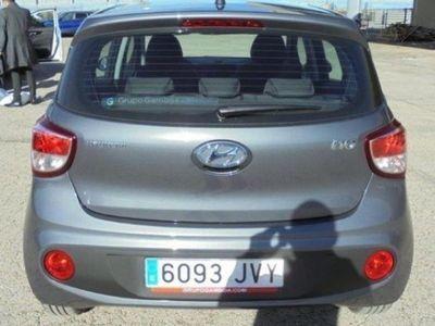 usado Hyundai i10 i101.0 MPI 66CV TECNO PE 5P KM´0 6093-JVY color gris año 2016 a € 10390.00