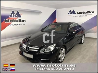 usado Mercedes E350 Clase E CoupeCDI Blue Efficiency Avantg.