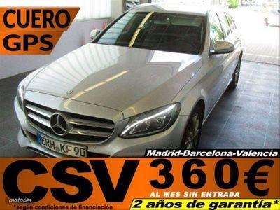 usado Mercedes C220 Clase Estate d 125 kW (170 CV)