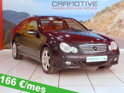 usado Mercedes 180 Clase C SportcoupéK Sport Edition